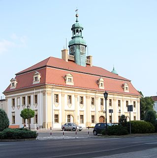 Rawicz Place in Greater Poland Voivodeship, Poland