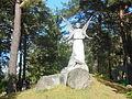 Rzeźba anioła na cmentarzu w Wasilkowie..JPG