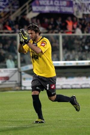 Sébastien Frey - Frey playing in a match for Fiorentina.