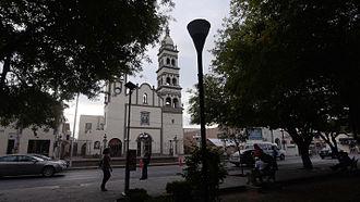 Apodaca - San Francisco de Asis Catholic Church and Parish located on the central square in Apodaca, Nuevo León, Mexico