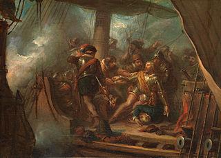 Anno 1606: Heemskerk dies near Gibraltar