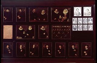 Portretten en kwartierstaat der voorouders van Gerrit Pietersz. Schaep van vaderszijde