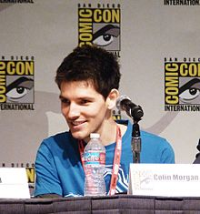 Description de l'image  SDCC10 - Colin Morgan.jpg.