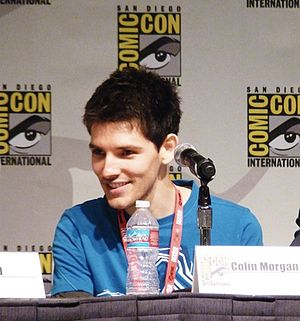 Colin Morgan - Morgan at the 2010 San Diego Comic-Con International