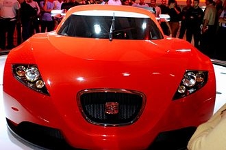 SEAT Cupra GT - SEAT Cupra GT concept car, at the 2003 Barcelona Motor Show