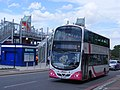 SEZ 2344 Belfast Translink Metro. Royal Victoria DLR station - Olympic games services. (7706117036).jpg