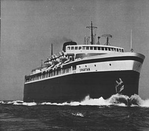 SS Spartan - Image: SS Spartan C&O Carferry