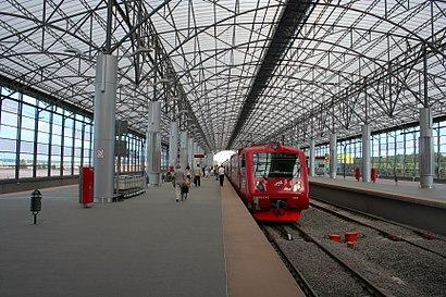 How to get to Аэропорт (Шереметьево) with public transit - About the place