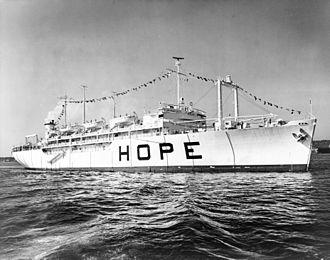 Project HOPE - The Hospital ship SS Hope