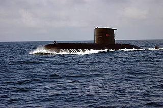 Brazilian submarine <i>Tikuna</i> (S34)