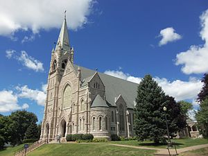 Henry Cosgrove - Bishop Cosgrove had Sacred Heart Cathedral built in Davenport.