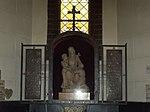 Sacred Heart Church. Altar of Saint Rita. - Budapest District VIII.JPG