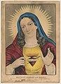 Sacred heart of Mary- sacre coeur de Marie - sacrado corazon de Maria LCCN2001704234.jpg