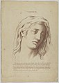 Sadness (from Heads Representing the Various Passions of the Soul; as they are Expressed in the Human Countenance- Drawn by that Great Master Monsieur Le Brun) MET DP854030.jpg
