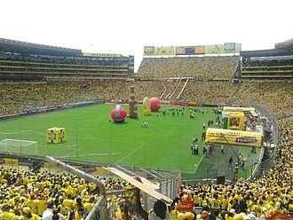 1993 Copa América - Image: Sageo EG Barcelona SC BSC vs CDO 2012 12 02 Partido final 001
