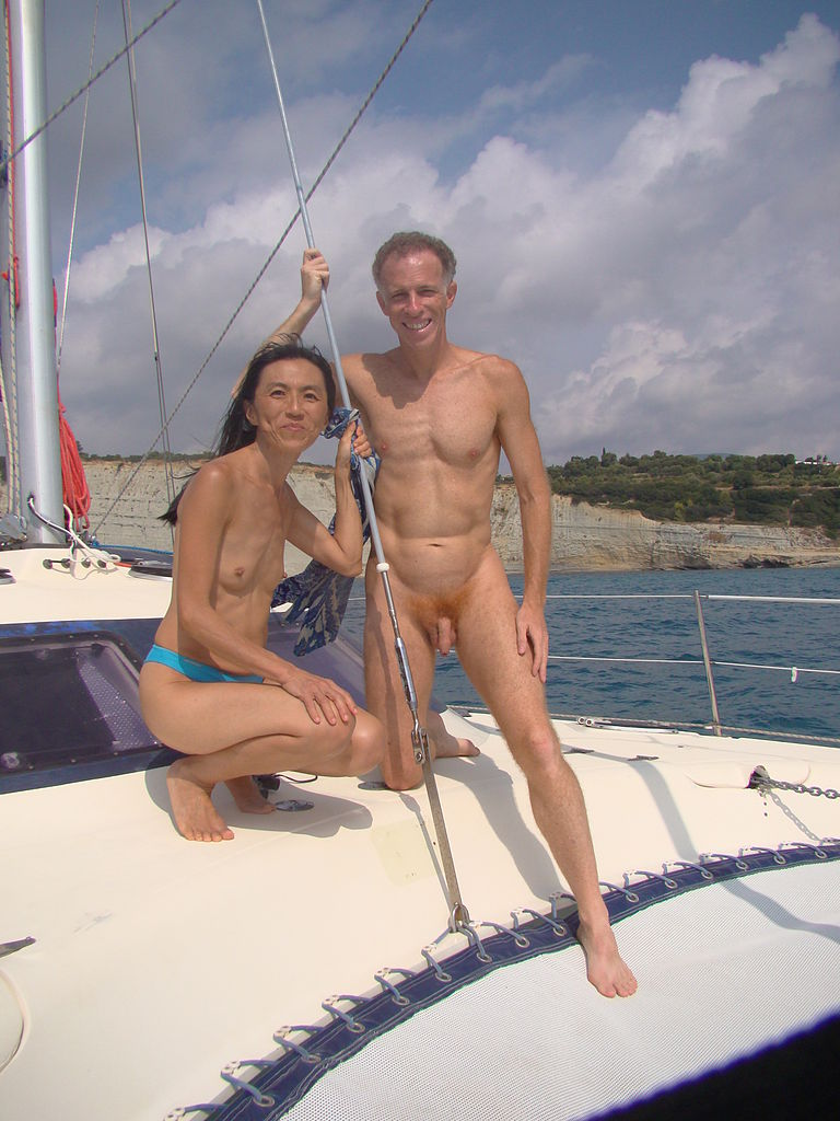 sailing nude greece
