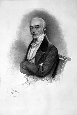 Louis de Beaupoil de Saint-Aulaire - Louis de Beaupoil de Saint-Aulaire, Lithograph by Josef Kriehuber, 1838