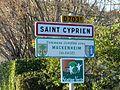 Saint-Cyprien (24) panneau jumelage.JPG