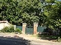 Saint-Germer-de-Fly (60), ancienne ferme de l'abbaye, portail, rue Michel-Greuet.jpg