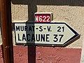 Saint-Gervais-sur-Mare panneau de direction D1 N622.jpg