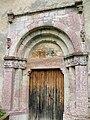 Saint-Paul-sur-Ubaye - Eglise Saint-Antoine-du-Désert à Maurin - Portail -909.jpg