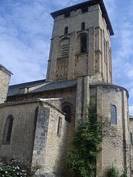 The church of Saint-Pierre, in Varen