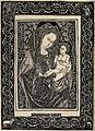 Saint Mary (the Blessed Virgin) with the Christ Child. Repro Wellcome V0033739.jpg