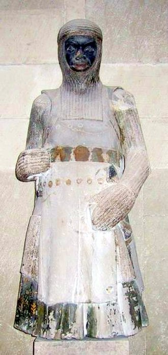 Magdeburg Cathedral - Statue of Saint Maurice in Magdeburg (ca. 1250 AD)