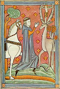 Conversion of St Hubert (Image from Wikipedia)