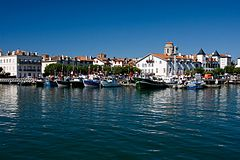 Port w Saint-Jean-de-Luz