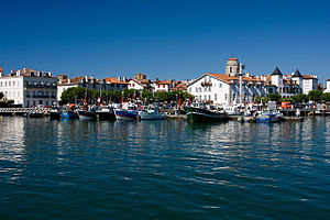 English: Saint-Jean-de-Luz is a fishing port o...