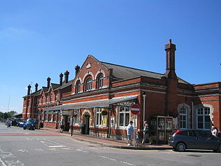grade II listed train station in Salisbury, United kingdom