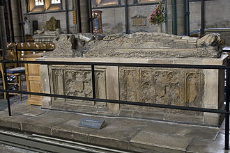 Walter de la Wyle - The tomb of Walter de la Wyle in Salisbury Cathedral