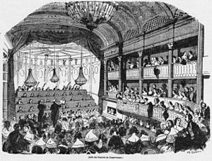 Conservatoire de Paris - A concert in March 1843