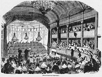 Conservatoire de Paris - A concert in March 1843