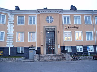 Sámi Parliament of Sweden - Main office building of the Sámi Parliament in Kiruna