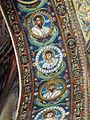 San vitale, ravenna, int., presbiterio, mosaici volta e arcone 07.JPG