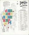 Sanborn Fire Insurance Map from Iowa City, Johnson County, Iowa. LOC sanborn02695 005-1.jpg