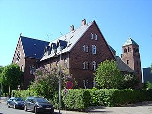 St. Anne's Church, Copenhagen - Image: Sankt Annae Kirke Hans Bogbinders Alle