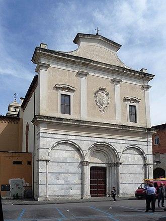 Sant'Antonio Abate (Pisa) - Image: Sant'Antonio Abate, Pisa, facciata