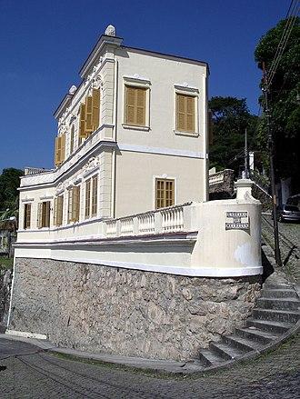 Santa Teresa, Rio de Janeiro - Picturesque corner of Ladeira de Meireles