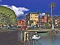 Santa Margherita Ligure - ĉe la maro.jpg
