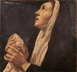 Weeping Female Saint