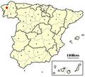 Santiago de Compostela, Spain location.png