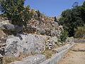 Santuario di Monte Sant'Angelo. Terrazza mediana. Tempio maggiore. Lato est.JPG