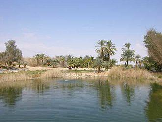 Sapir, Israel - KKL park: life in the desert