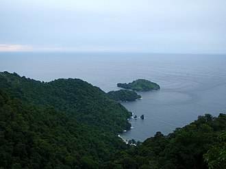 Saut d'Eau - Picture of Saut d'Eau off the north coast of Trinidad.