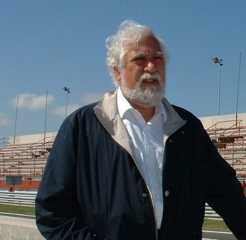 Enrique Scalabroni in 2006 at the Albacete Circuit in Spain. Scalabronirostro2006.JPG