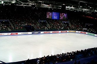 2008 World Figure Skating Championships - Scandinavium arena during the championship
