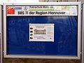 Schaukasten Infotafel der Berufsbildenden Schule BBS 11 der Region Hannover, Andertensche Wiese 26, 30169 Hannover.jpg